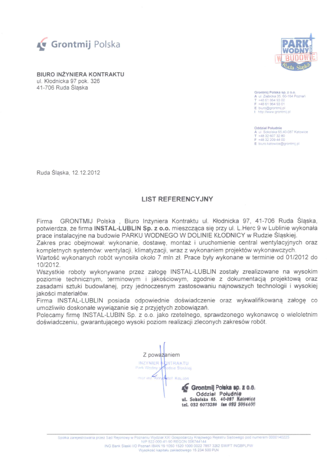Grontmij Polska Sp. zo.o.