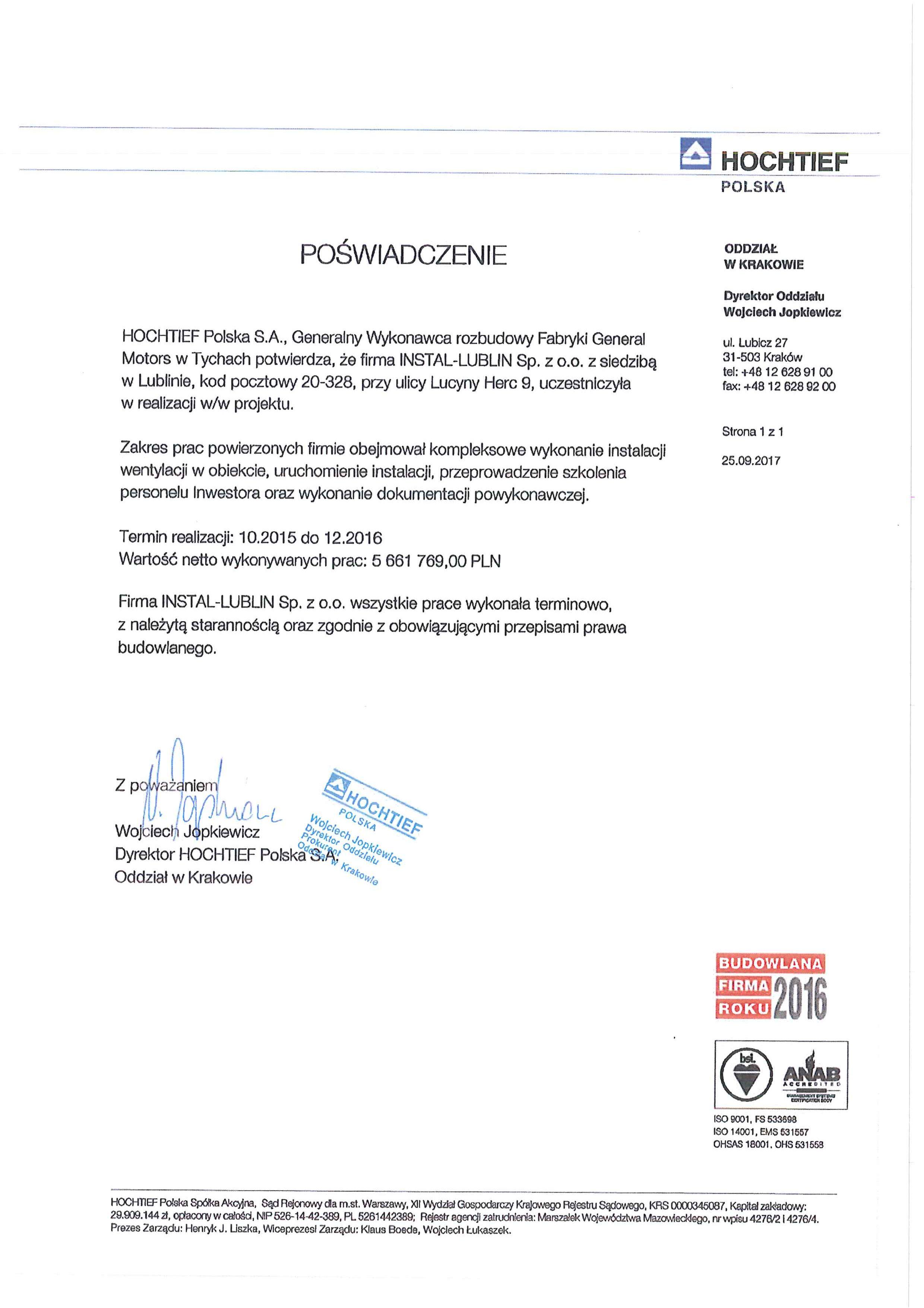Hochtief Polska S.A.